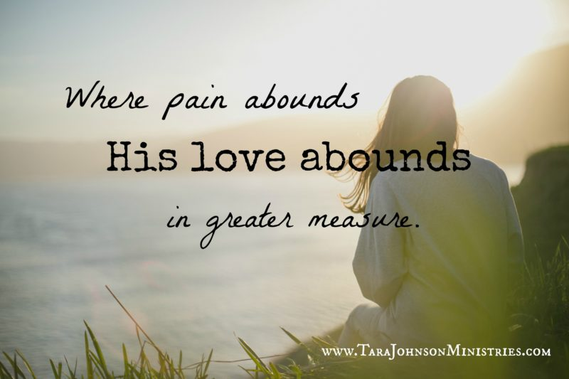 his love abounds