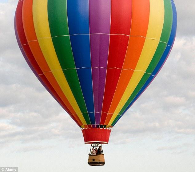 Посткроссинг открытка воздушный шар