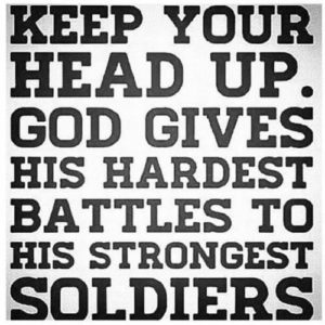 Another Christian Cliche: God's Strongest Soldier